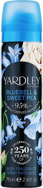 Yardley Bluebell & Sweet Pea - Deospray — Bild N1