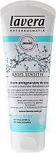 Fußcreme mit Bio-Macadamia und Heilerde für trockene Haut - Lavera Basis Sensitiv Foot Cream — Bild N1