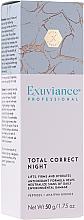 Düfte, Parfümerie und Kosmetik Professionelle Nachtcreme für das Gesicht mit Peptiden - Exuviance Professional Total Correct Night