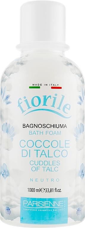 Badeschaum mit Talkum-Duft - Parisienne Italia Fiorile Cuddles Of Talc Bath Foam — Bild N1