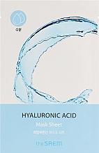 Düfte, Parfümerie und Kosmetik Feuchtigkeitsspendende Tuchmaske für das Gesicht mit Hyaluronsäure - The Saem Bio Solution Hydrating Hyaluronic Acid Mask Sheet