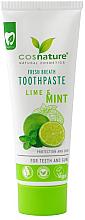 Düfte, Parfümerie und Kosmetik Natürliche Zahnpasta mit Limette und Minze - Cosnature