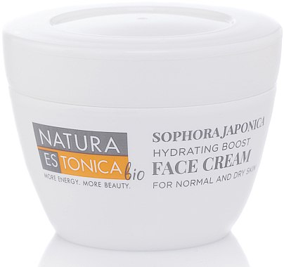 Feuchtigkeitsspendende Gesichtscreme mit japanischem Schnurbaum - Natura Estonica Sophora Japonica Face Cream — Bild N1