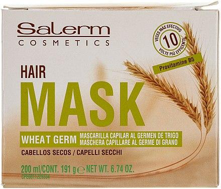 Pflegende Haarmaske mit Weizenkeimöl - Salerm Mascarilla Capilar  — Bild N1