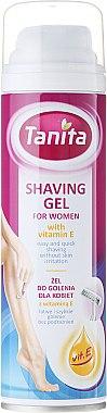 Rasiergel für Frauen mit Vitamin E - Tanita Body Care Shave Gel For Woman — Bild N1