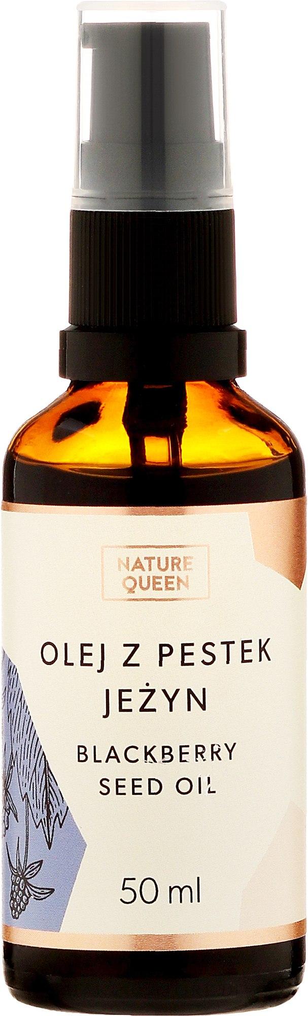 Brombeersamenöl - Nature Queen Blackberry Seed Oil — Bild 50 ml