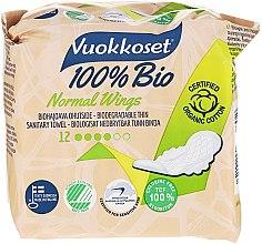 Düfte, Parfümerie und Kosmetik Damenbinden mit Flügeln 12 St. - Vuokkoset 100% Bio Normal Wings