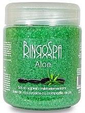 Düfte, Parfümerie und Kosmetik Aloe Badesalz mit Mikroelementen - BingoSpa Bath Salt With Trace Elements And Aloe Vera