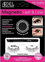 Düfte, Parfümerie und Kosmetik Make-up Set (Eyeliner 2g + Magnetische Wimpern 2St.) - Magnetic Lash & Liner 110 Lash Kit