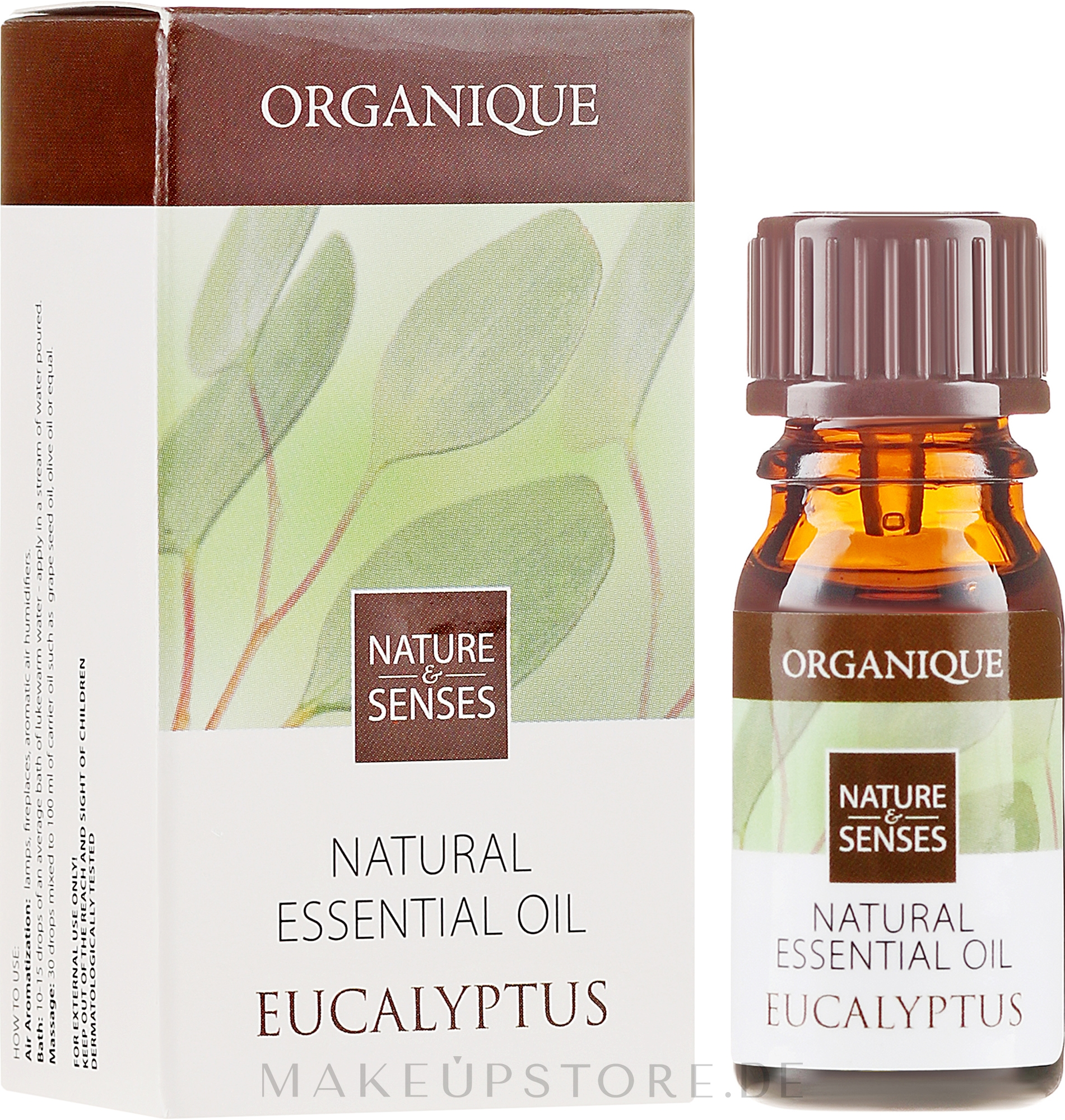 Ätherisches Eukalyptusöl - Organique Natural Essential Oil Eucalyptus — Bild 7 ml