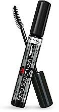 Düfte, Parfümerie und Kosmetik Mascara für geschwungene Wimpern - Rimmel Extra Super Lash Curved Brush Mascara