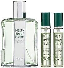 Düfte, Parfümerie und Kosmetik Caron Pour Un Homme de Caron - Duftset (Eau de Toilette 125ml + Eau de Toilette Mini 2x15ml)