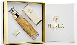 Düfte, Parfümerie und Kosmetik Gesichtspflegeset - Herla Gold Supreme II (Elixier 100ml + Gesichtsöl 15ml + Creme 5ml)