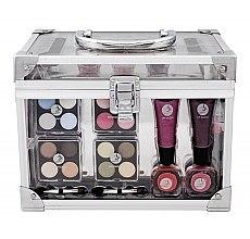 Düfte, Parfümerie und Kosmetik Make-up Set - Makeup Trading Crystal Beauty Train Case Transparent