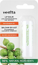 Düfte, Parfümerie und Kosmetik Lippenbalsam mit Macadamiaöl - Venita Lip Balm Macadamia Oil