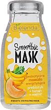 Energetisierende präbiotische Gesichtsmaske mit Banane und Wassermelone - Bielenda Smoothie Mask Prebiotic Energizing Mask — Bild N1