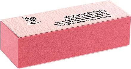 Doppelseitige Polierfeile rosa - Peggy Sage 2-Way Nail Block — Bild N1