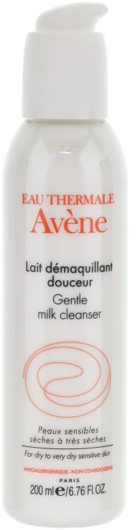 Sanfte beruhigende Gesichtsreinigunsmilch zum Abschminken für trockene bis sehr trockene und empfindliche Haut - Avene Soins Essentiels Gentle Milk Cleanser — Bild N2
