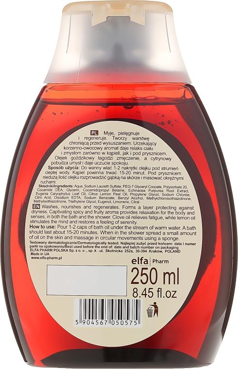 Badeöl mit Nelke und Zitrone - Green Pharmacy — Bild N2