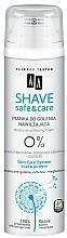 Düfte, Parfümerie und Kosmetik Feuchtigkeitsspendender Rasierschaum - AA Shave Safe & Care