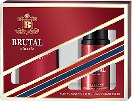 La Rive Brutal Classic - Duftset (After Shave Lotion/100ml + Deodorant/150ml) — Bild N1