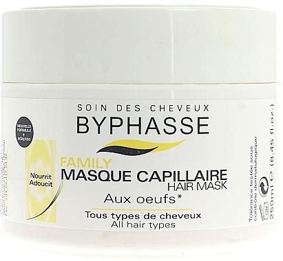 Haarmaske mit Eigelb - Byphasse Family Multivitamin Complexe Mask — Bild N1