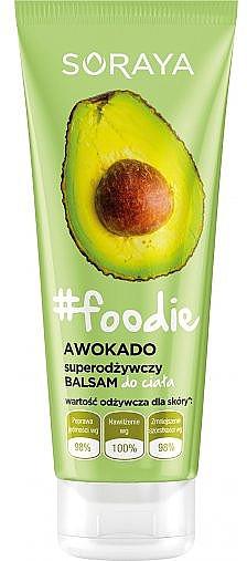 Intensiv pflegende Körperlotion mit Avocado - Soraya Foodie