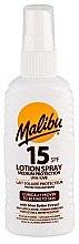 Düfte, Parfümerie und Kosmetik Sonnenschutz Körperlotion mit Sheabutter und Vitaminen LSF 15 - Malibu Lotion Spray SPF15