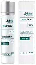 Düfte, Parfümerie und Kosmetik Intensiv regenerierende Nachtcreme für das Gesicht mit 0.3% Vitamin A - Dottore Retino Forte