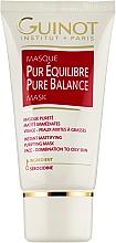 Düfte, Parfümerie und Kosmetik Mattierende und reinigende Gesichtsmaske für gemischte bis fettige Haut - Guinot Masgue Pur Eguilibre
