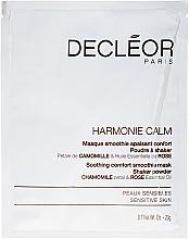 Düfte, Parfümerie und Kosmetik Beruhigende Gesichtsmaske für empfindliche Haut mit Kamillenblüten- und Rosenöl - Decleor Harmonie Calm Soothing Comfort Smoothie Mask Shaker Powder