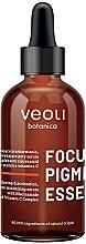 Düfte, Parfümerie und Kosmetik Porenminimierendes Gesichtsserum gegen Verfärbungen mit Niacinamid und Vitamin C - Veoli Botanica Focus Pigmentation Essence