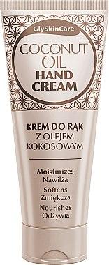 Feuchtigkeitspendende und pflegende Handcreme mit Kokosöl - GlySkinCare Coconut Oil Hand Cream — Bild N1