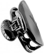 Düfte, Parfümerie und Kosmetik Haarklammer 204 schwarz - Moliabal Milano Hair Clip
