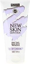 Düfte, Parfümerie und Kosmetik Aufhellendes und erfrischendes Gesichtsreinigungsgel mit Glykolsäure - Beauty Formulas New Skin Glycolic Facial Wash