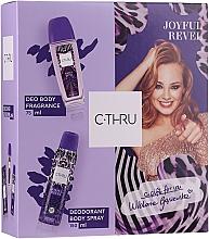 Düfte, Parfümerie und Kosmetik C-THRU Joyful Revel - Duftset (Deospray 150ml + Deodorant 75ml)