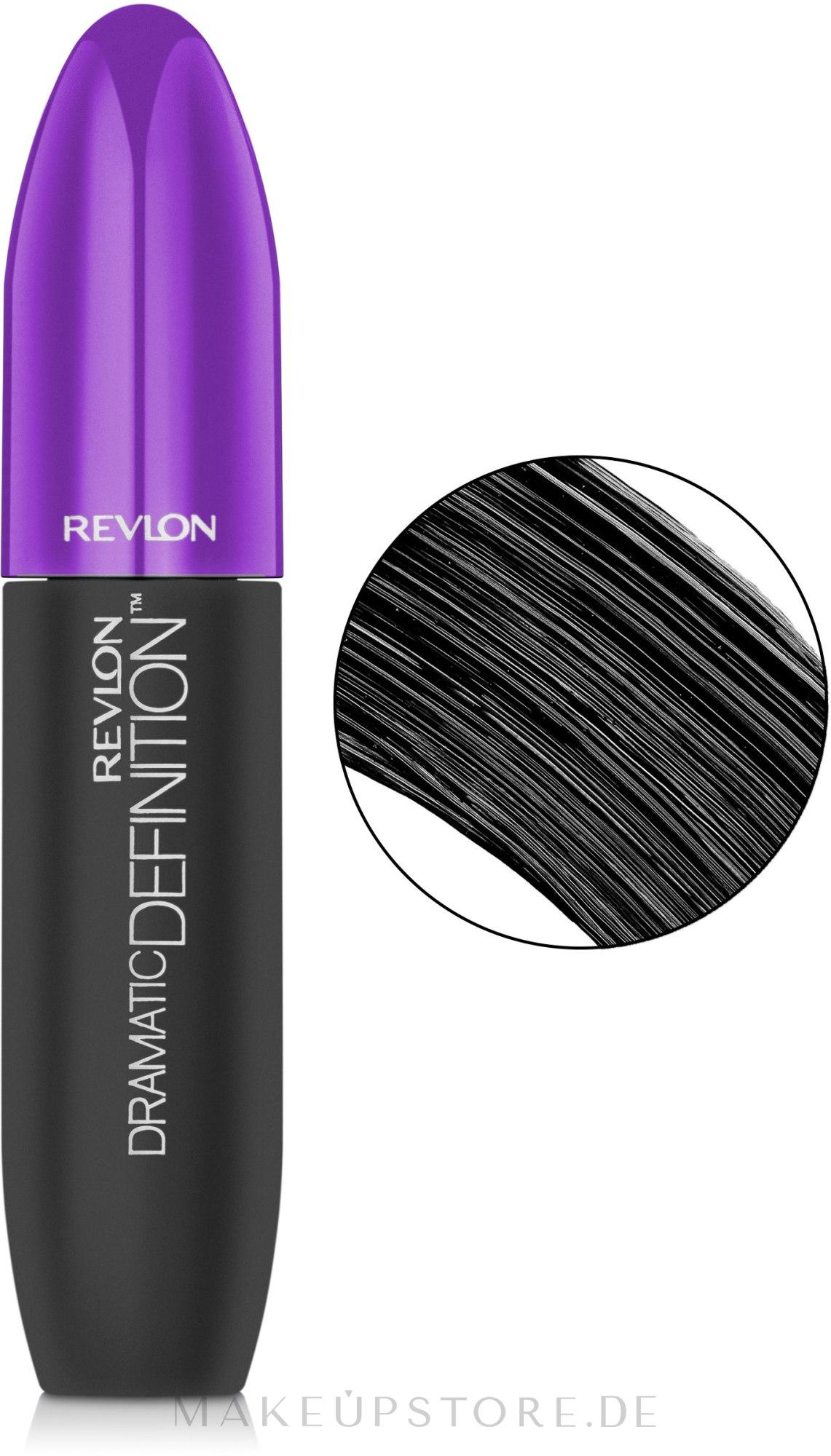 Wimperntusche - Revlon Dramatic Definition Mascara — Bild Blackest Black