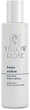 Düfte, Parfümerie und Kosmetik Beruhigende Gesichtslotion mit Azulen, Vitamin E und Allantoin für trockene und empfindliche Haut - Yellow Rose Lotion Azulene