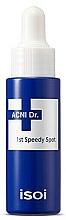 Düfte, Parfümerie und Kosmetik Schnellentlastende Gesichtsbehandlung gegen Flecken und Makel für Problemhaut - Isoi Acni Dr. 1st Control Speedy Spot