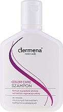 Shampoo für strapaziertes Haar - Dermena Hair Care Color Care Shampoo — Bild N3