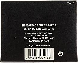 Mattierende Gesichtstücher - Kanebo Sensai Face Fresh Paper — Bild N2