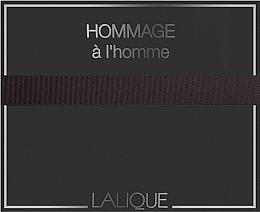 Düfte, Parfümerie und Kosmetik Lalique Hommage a L'Homme - Duftset (Eau de Toilette 100ml + Duschgel 150ml)