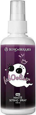 Make-up-Fixierer - Boys'n Berries Fabooliser Pro Matte Setting Spray — Bild N1