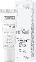 Düfte, Parfümerie und Kosmetik Aufhellender Augen-Primer - Pupa Professionals Primer Brightening Eye Primer