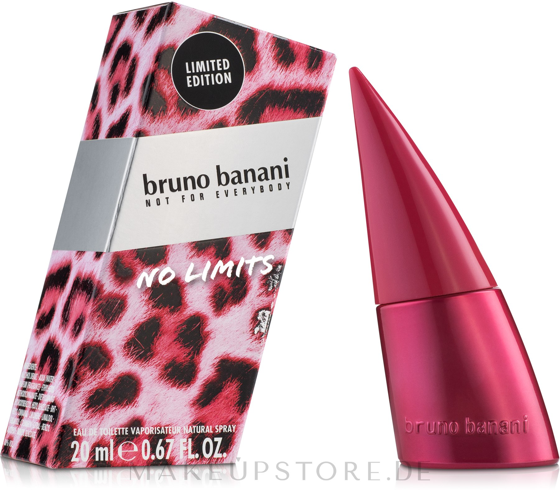 Bruno Banani No Limits Woman - Eau de Toilette  — Bild 20 ml