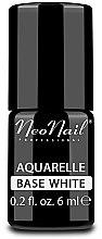 Düfte, Parfümerie und Kosmetik UV Nagelunterlack Aquarell weiß - NeoNail Professional Aquarelle Base White
