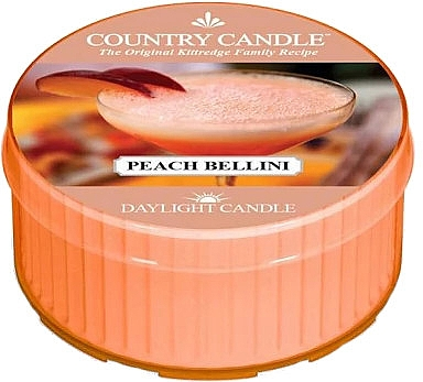Duftkerze Peach Bellini - Country Candle Peach Bellini Daylight — Bild N1