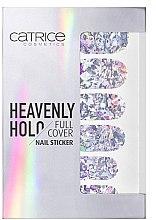 Düfte, Parfümerie und Kosmetik Dekorative Nagelsticker - Catrice Heavenly Holo Full Cover Nail Sticker