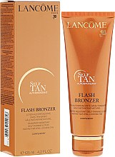 Düfte, Parfümerie und Kosmetik Autobronzant für den Körper - Lancome Flash Bronzer Body Gel