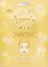 Düfte, Parfümerie und Kosmetik Glanz bringende Tuchmaske mit Vitamin C - Lumene Kirkas Radiance Boosting Sheet Mask